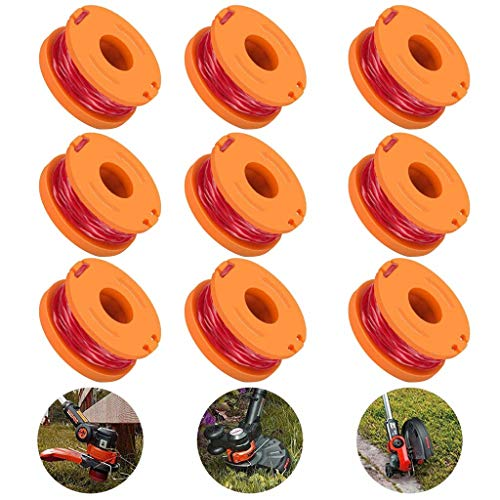 Lowest Price! N/X Replacement Trimmer Spool Line for Worx, 12 Pack (12 Pack Grass Trimmer Line)