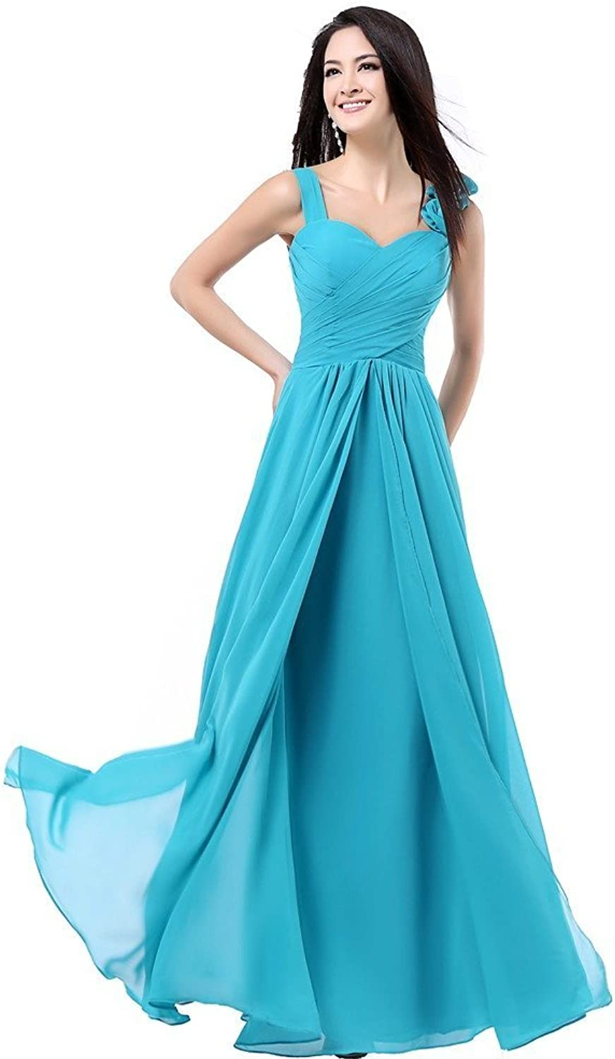 Angel Charmangel Women's Formal Bridesmaid Dress Gown Size 10 Turquoise