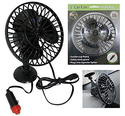 Marko Electrical Fan Pedestal Fans Oscillating Stand Desk Electric Home Tower Office Standing UK