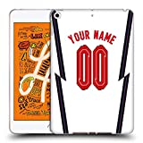 Head Case Designs Officially Licensed Custom Customised Personalised England National Football Team Casa Kit Personalizado 2020/22 Carcasa de Gel de Silicona Compatible con Apple iPad Mini (2019)