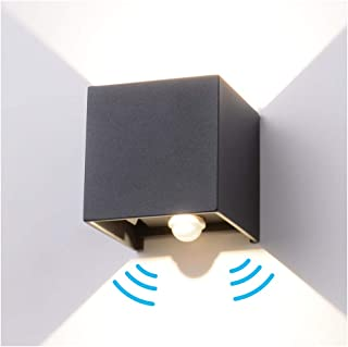 Round DEL 12 W cloison remplaçable Ampoule d/'extérieur IP44 Intérieur Plafond 6500K