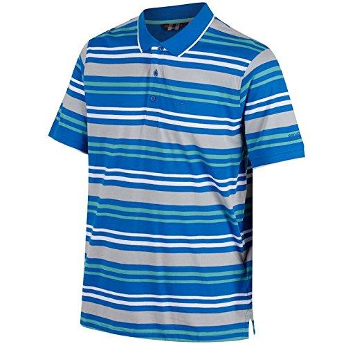 Regatta Pieran T-Shirt à Manches Courtes pour Homme S Bleu Oxford