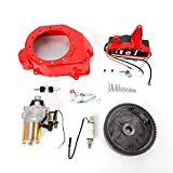 DY19BRIGHT Fit Honda GX160 5.5/200 6.5HP Electric Start Kit Flywheel Ignition Box Fan Cover US Stock