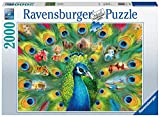 Ravensburger Land of The Peacock 2000 Piece Jigsaw Puzzle for Adults - Every Piece is Unique, Softclick Technology Means Pieces Fit Together Perfectly