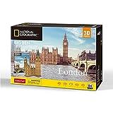 University Games- Big Ben Puzzle 3D, Multicolor, 94 pcs (7645)