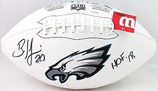 JSA W Auth Silver Miles Sanders Autographed Wilson Super Grip Football