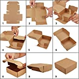Zoom IMG-1 kurtzy scatoline carta kraft marroni