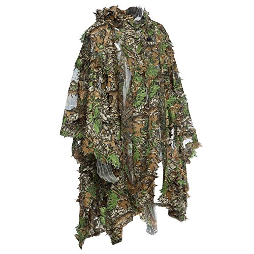 3D Jungle Sniper Set Jagd Camouflage Camping Vogelbeobachtung Poncho Ghillie Suit