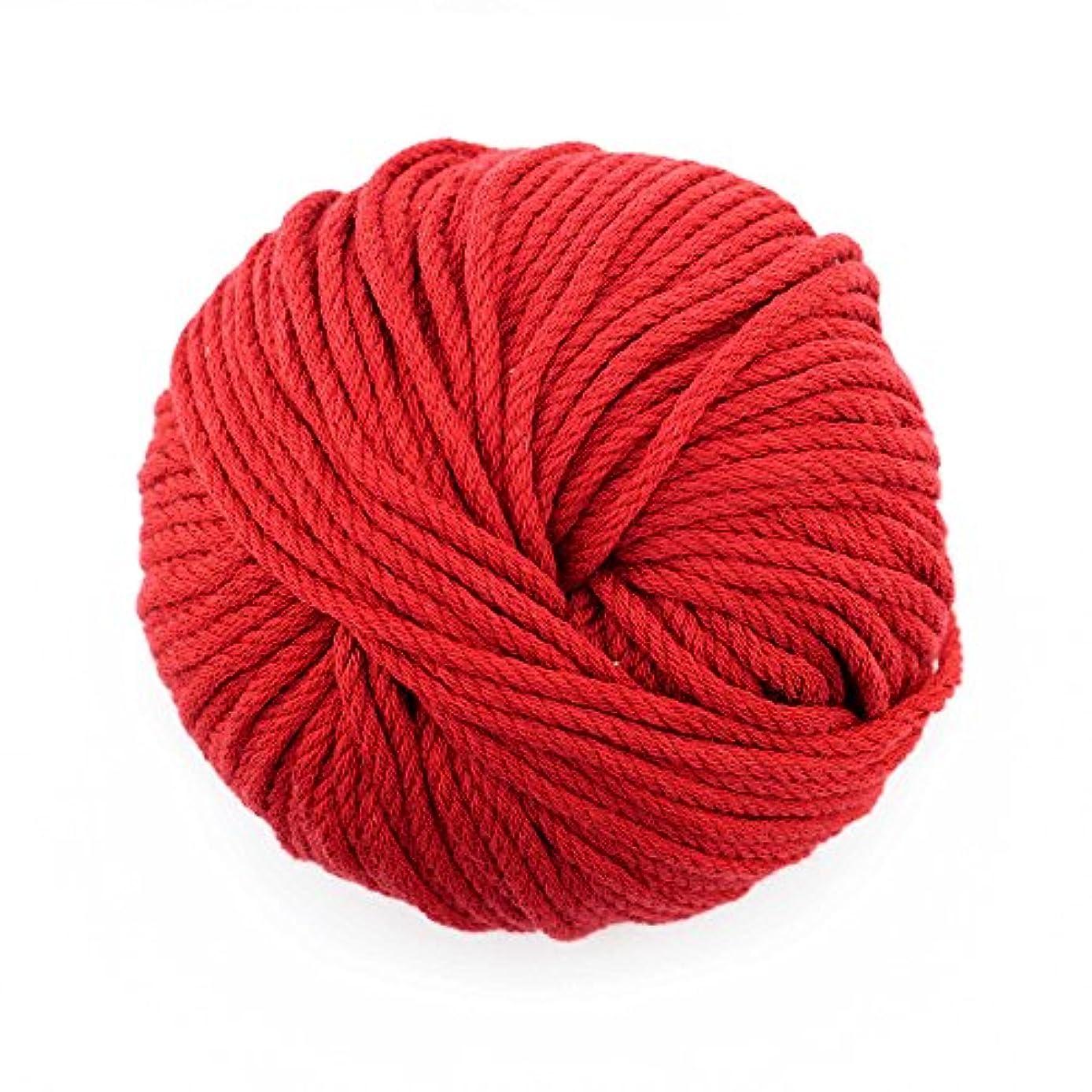 JubileeYarn Bamboo Cotton Chunky Yarn - Red Hot Red - 2 Skeins