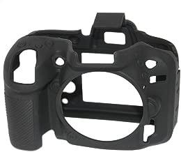 EasyCover ECND7100B Nikon D7100/D7200 için Silikon Kılıf, Siyah/Sarı/Kamuflaj