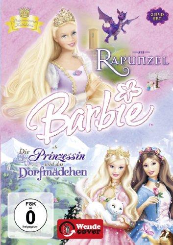 Barbie als: Rapunzel / Barbie als Die Prinzessin und das Dorfmädchen [2 DVDs]