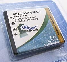 Replacement for Kodak EasyShare M1033 Battery - Compatible with Kodak KLIC-7004 Digital Camera Battery (1100mAh 3.7V Lithium-Ion)