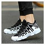 Moda Hombres Zapatillas de lujo Zapatillas de lujo Split Cuero Ciudad Ocio Ocio Zapatos Casual Zapatos transpirables Calzado Calzado Masculino Pisos ( Color : Summer Mesh Black , Shoe Size : 40 )