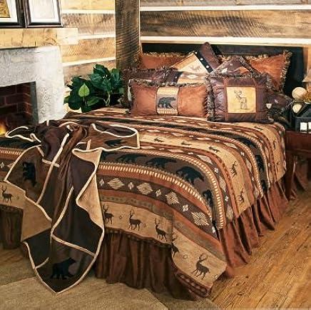 Carstens Autumn Trails 5 Piece Bedding Set,  Queen