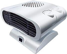 ZRSA Calefactor Cerámico Mini Ventilador Eléctrico Calefactor Eléctrico bajo Consumo, Portátil Ventilador Calefactor PTC Cerámica Calefactor Aire Caliente Oscilación Automática