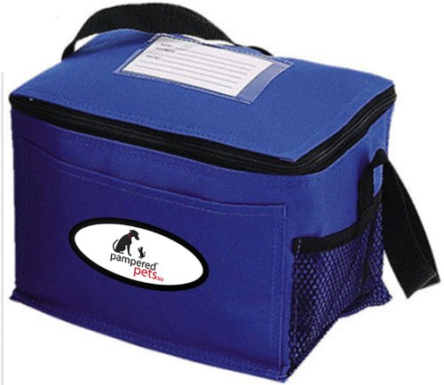 Buy Pampered Pets Insulated Cooler Bag, 9.5-Inch, Royal Blue