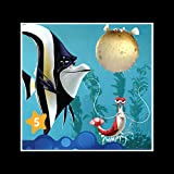 Stick It On Your Wall Findet Nemo–Narbe Fisch Mini