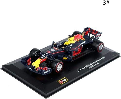 JTWJ Modèle de Voiture Jouet 1 32 modèle de Course 3  33  modèle de Voiture en Alliage de Simulation, Taille  142X55X30MM (Couleur   3  Racing)