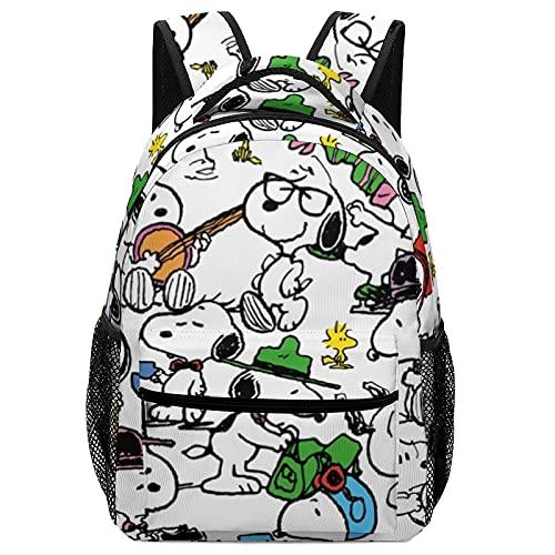 Snoopy - Mochilas para niños de alta capacidad para estudiantes de primaria y secundaria, ultraligeras y con múltiples compartimentos