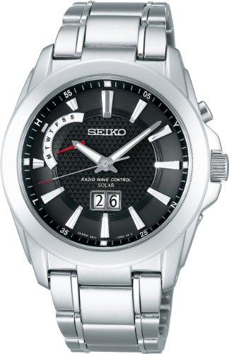 [セイコー]SEIKO 腕時計 SPIRIT スピリット ソーラー 電波時計 SBTT009 メンズ