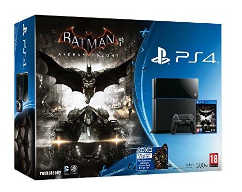 PlayStation 4: Console 500GB Black + Batman: Arkham Knight [Bundle]