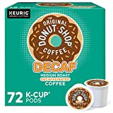The Original Donut Shop Decaf, Single-Serve Keurig K-Cup Pods, Medium Roast Coffee, 72 Count