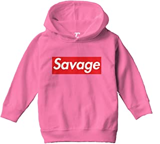 Savage - Lit Ruthless Stay Woke Toddler/Youth Fleece Hoodie