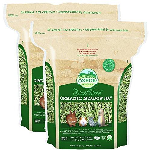Oxbow BeneTerra Organic Meadow Hay, 30-Ounce Bag