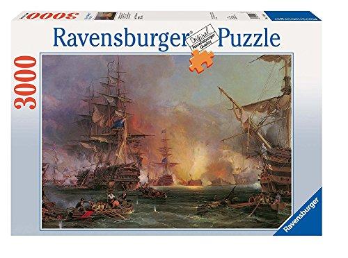 Ravensburger 17010 Bombardamento di Algeri, Puzzle 3000 Pezzi, Puzzle per Adulti