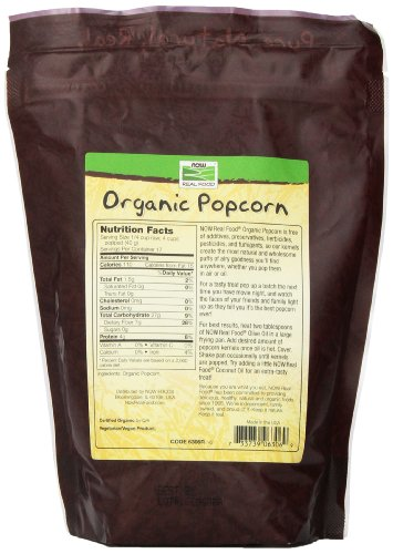 Product Image 3: Now Foods Organic Popcorn, 24 Ounce (Pack of 2)