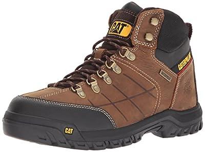 Caterpillar Men's Threshold Waterproof Industrial Boot, Brown, 10 W US