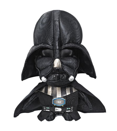 Joy Toy 100227 - Darth Vader sprechender Plüsch 23 cm in Displaybox