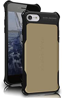 WK DESIGN iPhone 7 Plus Case Heavy Duty Protection Shock Reduction Bumper Case for iPhone 7 Plus Cover(Gold)