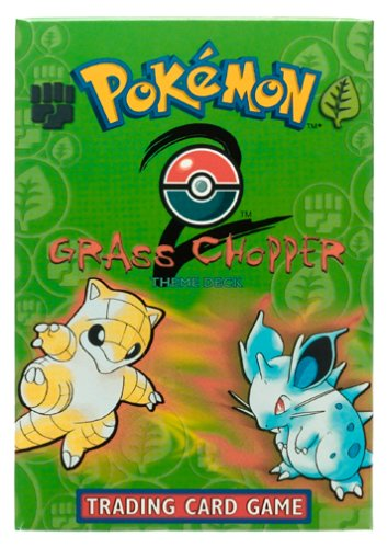 Pokemon Base Set 2 Grass - Chopper Deck [Toy]