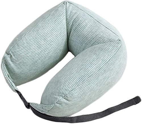 Hinleise Almohada suave para el cuello Scorpion de algodón de apoyo lumbar almohada portátil en forma de U de viaje para viajar dormir en avión tren de coche
