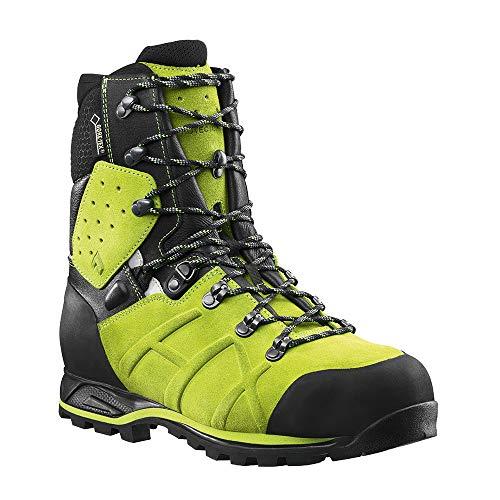 Haix Protector Ultra Lime Green Forst Sicherheitsschuh garantiert mehr Schnittschutz. 44