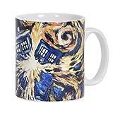 Doctor Who Esplodere tazza di ceramica colorata Tardis 320 ml