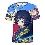 YJXDBABY-Ghost Blade-Camiseta Unisex De Manga Corta Estampada En 3D,Camisetas...