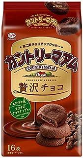 不二家 カントリーマアム(贅沢チョコ) 16枚 ×5袋