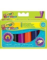 Crayola 02.0080R - 8 Jumbo kleurpotloden