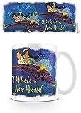 Disney MG25501 - Tazza in ceramica, 315 ml, motivo: Aladdin Le Film