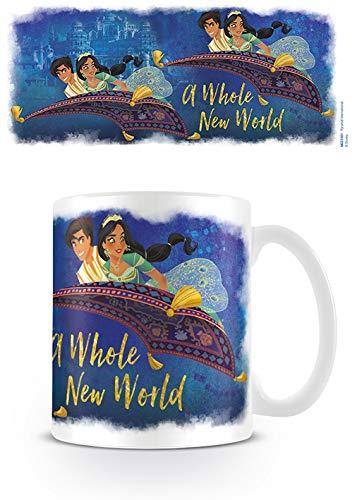 Disney MG25501 Tasse aus Keramik, 11oz / 315 ml, Aladdin Der Film