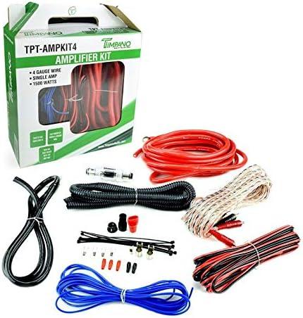 Top 10 Best amplifier wiring kit 4 gauge Reviews