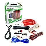 Timpano Amplifier Wiring Kit - 4 Gauge Amp Kit 1500 Watts Amplifier Installation Cable Kit – 100 Amp Fuse Single Amp TPT-AMPKIT4
