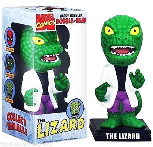 Wobbler: Marvel: The Amazing Spiderman: Lagarto