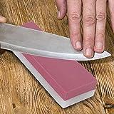 Regalo de Julio Piedra de afilar, 3000# 8000# Grit Double Sides Kitchen Piedra de afilar Afilador de cuchillos Herramienta Piedra de afilar