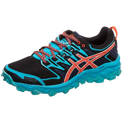 ASICS Gel-Fujitrabuco 7 Womens Running Trainers 1012A180 Sneakers Shoes (UK 8 US 10 EU 42, Aquarium Blue Expanse 400)