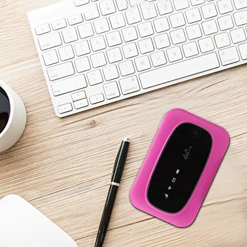 Shipenophy Enrutador Módem WiFi Portátil Confiable Cobertura de Amplio Espectro 150 Mbps Ligero para Tableta