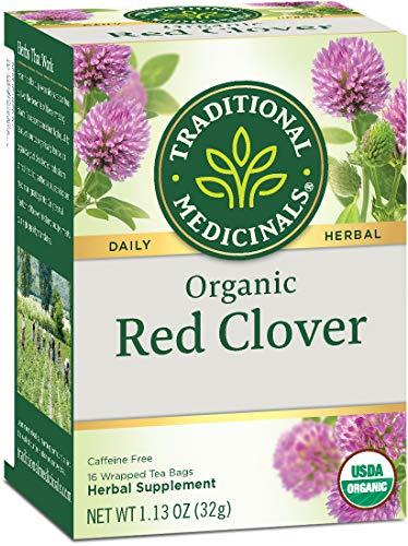 Traditional Medicinals Organic Red Clover Tea, 16 Ct