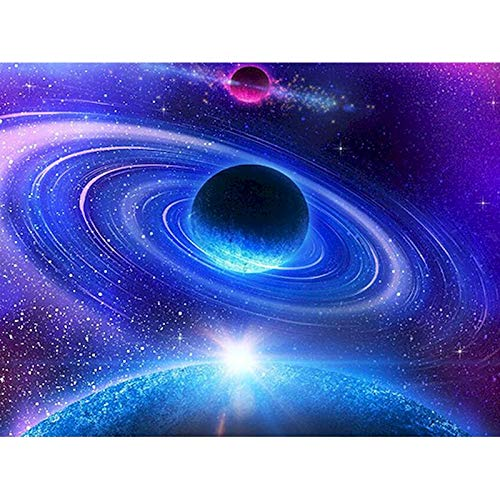 Universo Starry Sky Viewing DIY Canvas Poster HD Imprimible Fondo De Arte Moderno Decoración del Hogar Mural Pintura Al Óleo Sin Marco 40X60Cm 1179